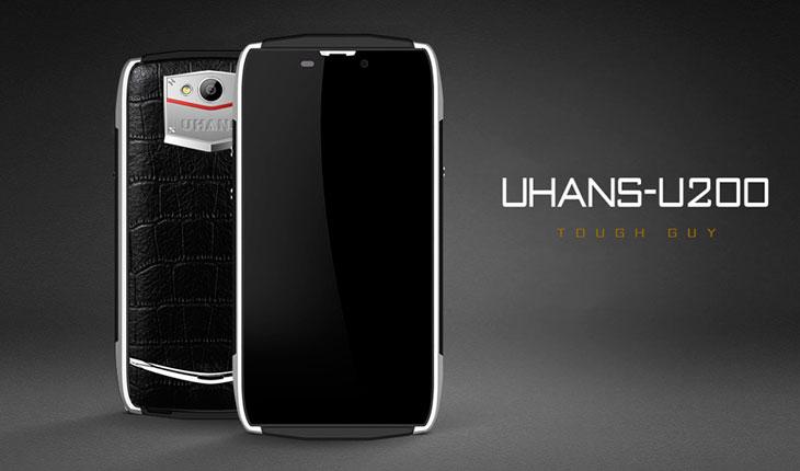 UHANS U200 móvil ultra resistente